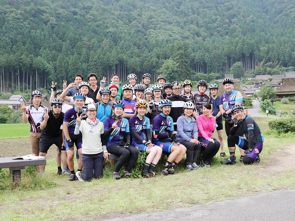 花背~美山~京北一周100kmサイクリング