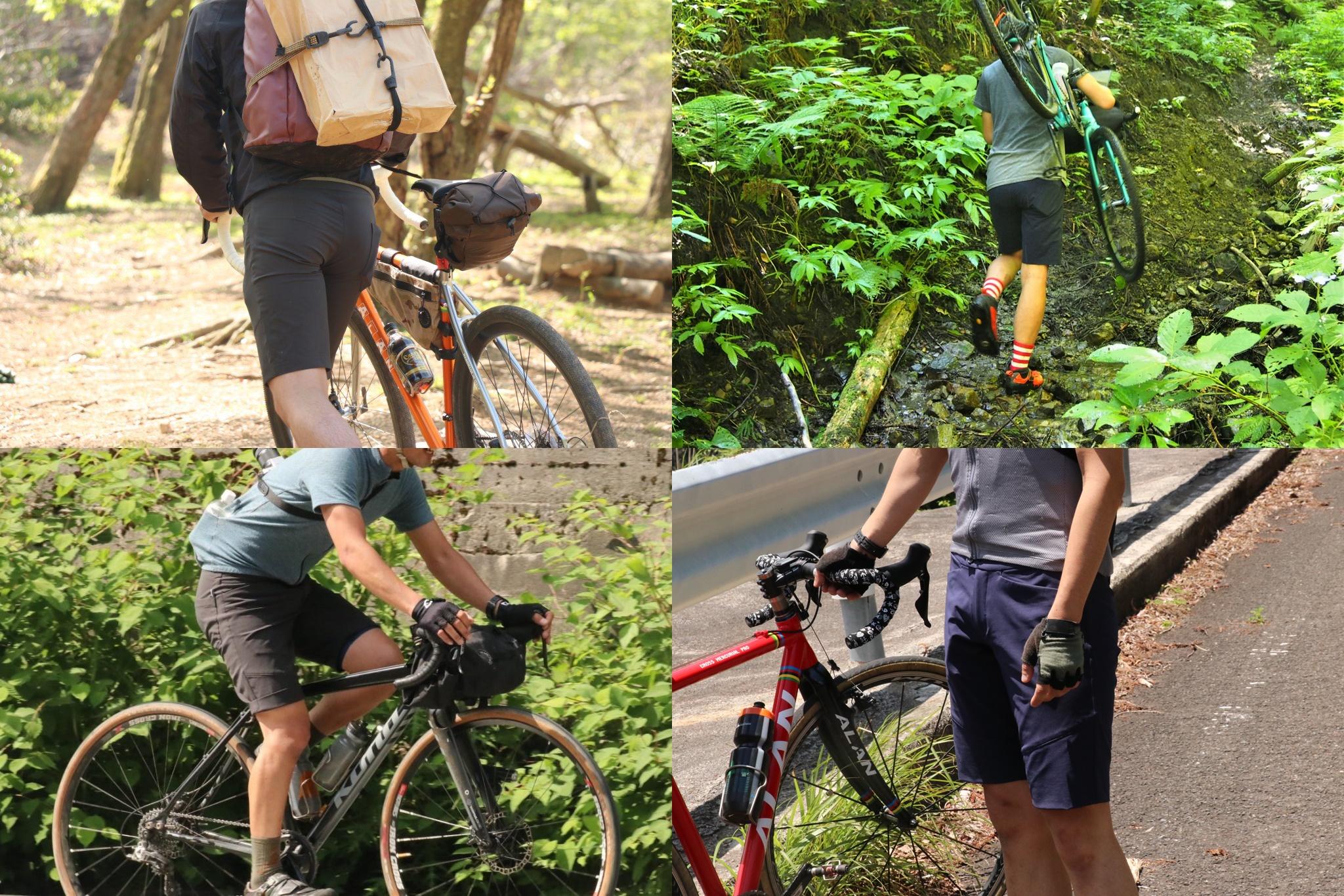 ロードバイク ファッション 夏