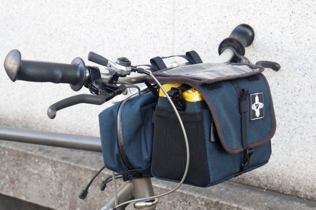 "【 PAPER SKY / ペーパースカイ 】 X 【 RawLow Mountain Works / ロウロウマウンテンワークス 】コラボレーションアイテム""Bike 'n Hike FRONT BAG / バイクンハイクフロントバッグ"""