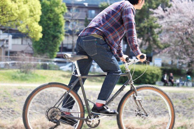 ~自転車乗りの為の最良のジーンズ~【 RAL / ラル 】x 【 ALL YOURS / オールユアーズ 】High Kick Riding Jeans(ハイキックライディングジーンズ)