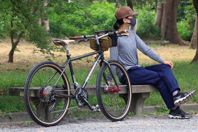 背が低めの方&女性の方(身長150cm~)から乗車OK!なグラベル/ツーリングバイク【SALSACYCLES(サルササイクルズ)2012モデル】 VAYA3(バヤ3) 26インチをカスタムしてみました。