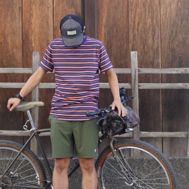 アクティビティに必要な機能を詰め込んだストライプTシャツ【CIELE / シエル】 NSBTShirt – Decade Stripe –